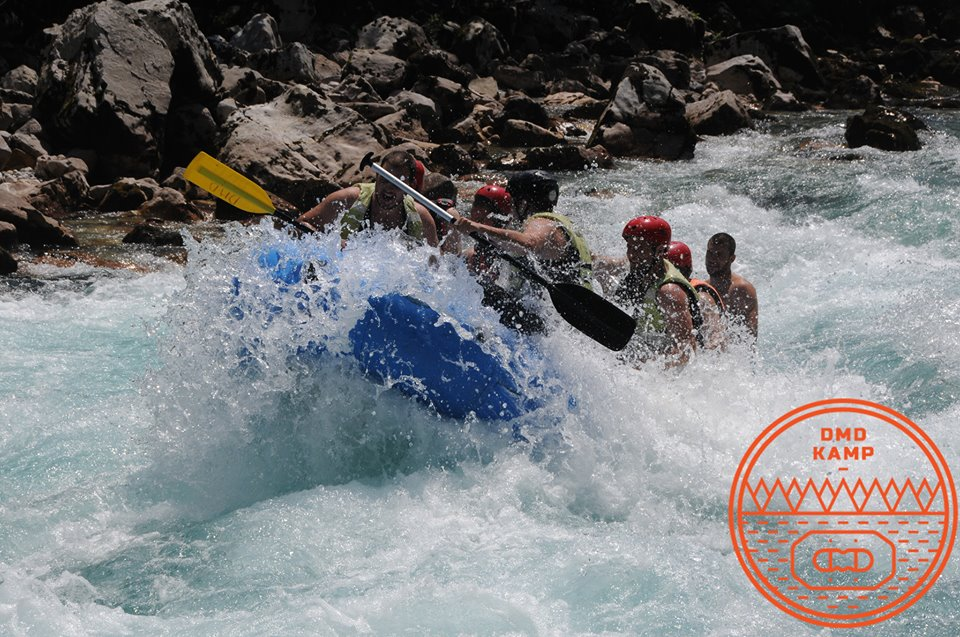 Rafting kamp DMD Bastasi