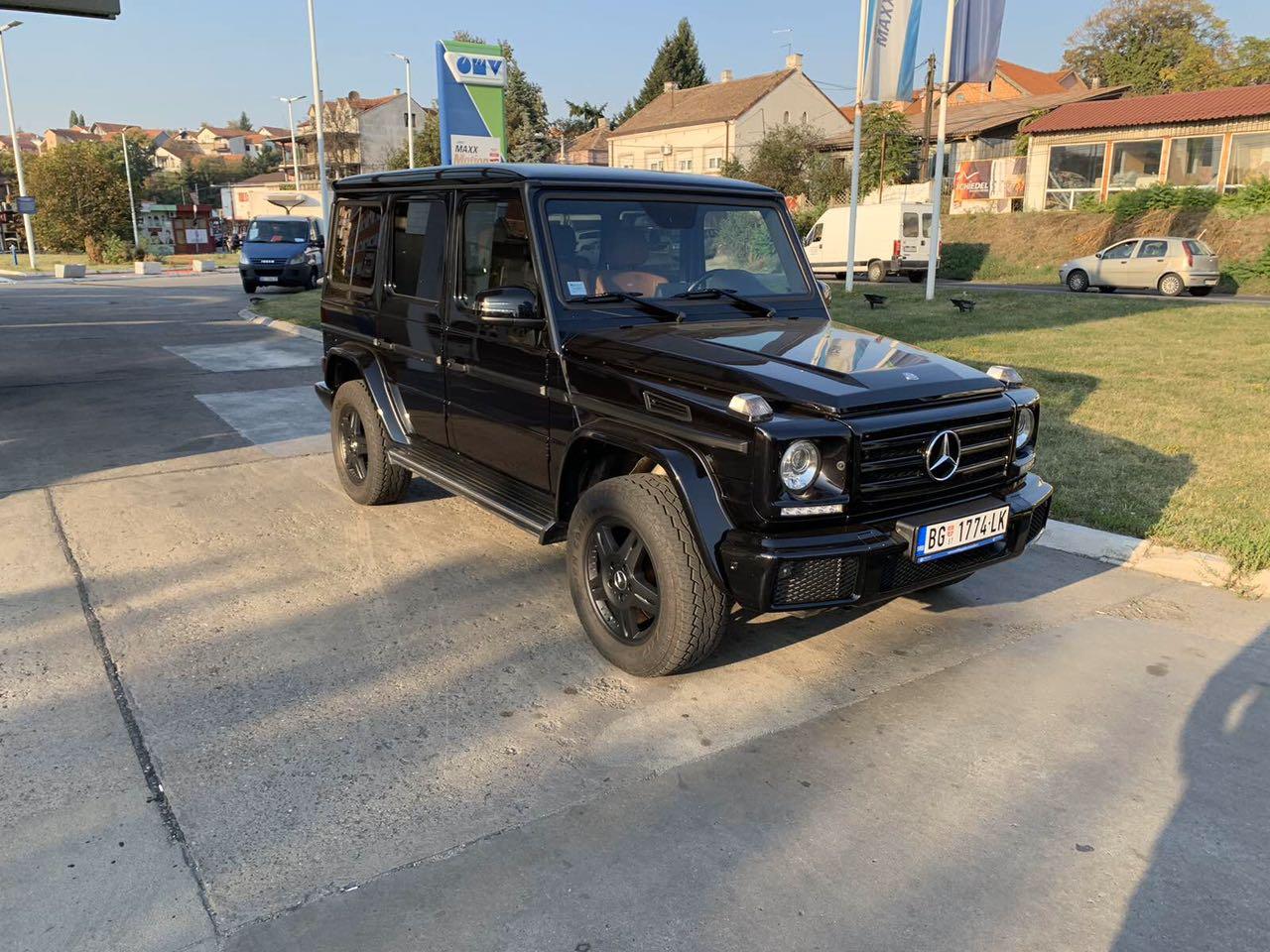 Mercedes G klase 4+1