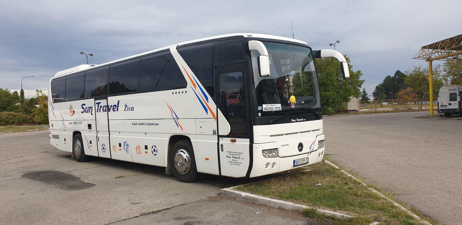 Mercedes Turizmo 50+1