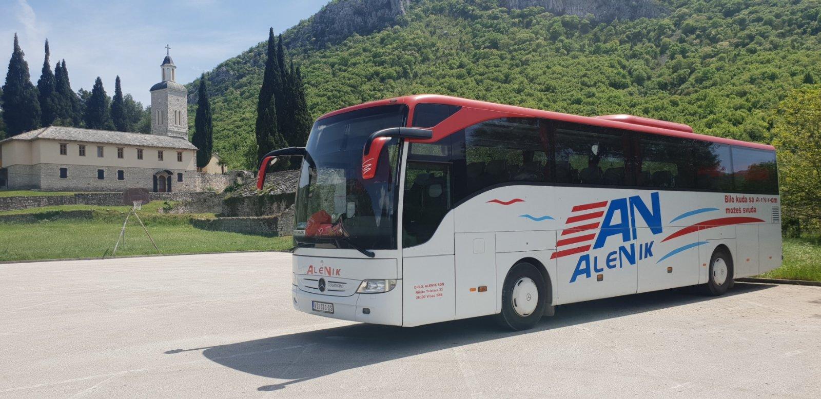 Mercedes Tourismo 56+2